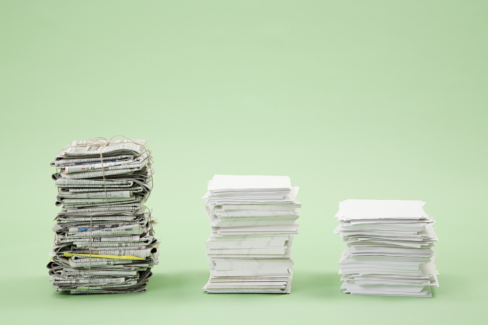 Is there a catch to 'going paperless'?
